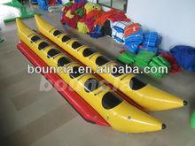 Hot inflatable banana boat, towable boat