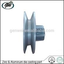 Custom aluminum die cast washing macine parts pulley