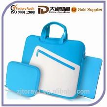 Fashion neoprene laptop bag neoprene laptop bag with zipper