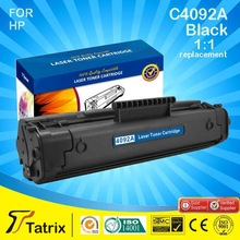 Empty Toner Cartridge,recycle Toner cartridge for HP C4092A