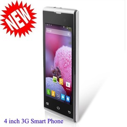 New Arrival 4inch Dual Core 854*480 512MB+4GB 3G /GPS/BT/WIFI Smart Phone