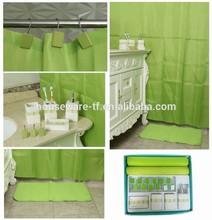 latest high quality green hotel design ceramic bathroom accessory