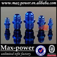 Hot Sale! Oil cooler Hose Fitting/Hose End AN4-AN4 AN6-AN6 AN8-AN8 AN10-AN10 AN12-AN12 Blue