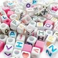 Grânulos do alfabeto carta para a jóia de diy, produto da promoção, presente da promoção, item promoção