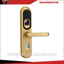 Economic and durable fingerprint security lock