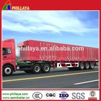 Box Body Van Type Semi Trailer / Side Openable Truck Semi Trailer / Cargo Trailer