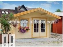 cheap price summer wood garden house