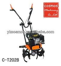 Gasoline tiller 5.5HP rotovator Mini tiller Rotary tiller C-T202B
