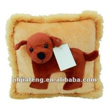 top quality dog shape pillow