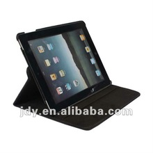360 rotation bracket board holder faux leather folio protective case for ipad