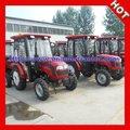 Popularmente utilizados pequenos tractores com cabine