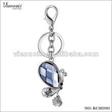 2012 Fashion Ladies Crystal Stone keyrings personalised