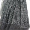 High quality silver sequin fabric (FLS-032910)