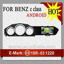 TOUCH SCREEN CAR DVD GPS FOR MERCEDES BENZ C CLASS AL-9309