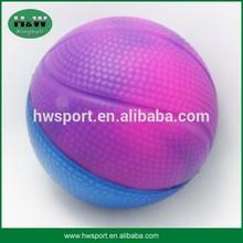 promotional pu foam stress basketball