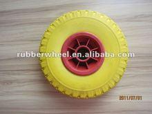 3.00-4 pu foam solid wheelbarrow wheel