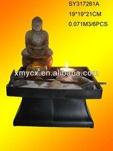 New buddha zen fountain