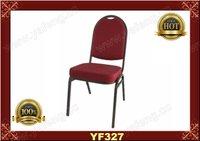 2012 hotel Luxury Durable steel chair YF327