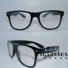2012 custom design fashion black wayfarer sunglasses/custom logo sunglasses