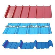 corrugated roof tile / roof steel / floor deck