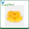 export health certificate food canned peaches brand