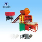 ZCJK A1 Popular QTJ4-35I Small Fly Ash Hollow Brick Machinery science working models