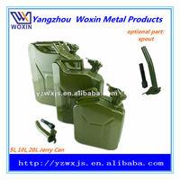 5l/10l/20l potable metal jerry can