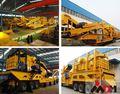معدات متنقلة المطحنة 2014 البناء المدني القدرات 70-120t/ h