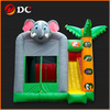 Attractive Lovely Elephant Cartoon Inflatable House Slide