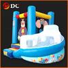 Attractive Kids Cartoon Inflatable House Slide