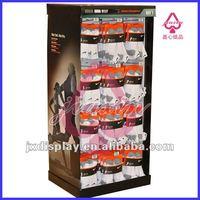 pop cardboard shop clothes/garment hanging display