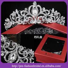 AH351 Hottest 2012 !! Cystal Wedding Decoration Elegan Crown Bride Ornament Imperial Bridal Tiara Wedding Hair Crown
