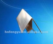 the high-grade internal PVC corner /PVC corner profile