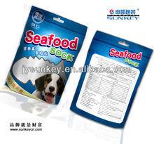 printed plastic packaging bag for sea food