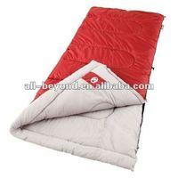 Customzible color portable warm travel waterproof terylene autumn sleeping bag (RSA1203)