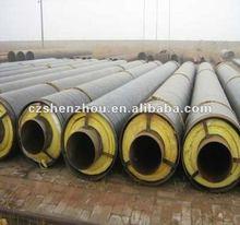 Spirale de tuyaux en acier soudé pour isolation thermique