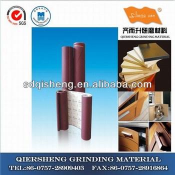 Fiber polishing paper