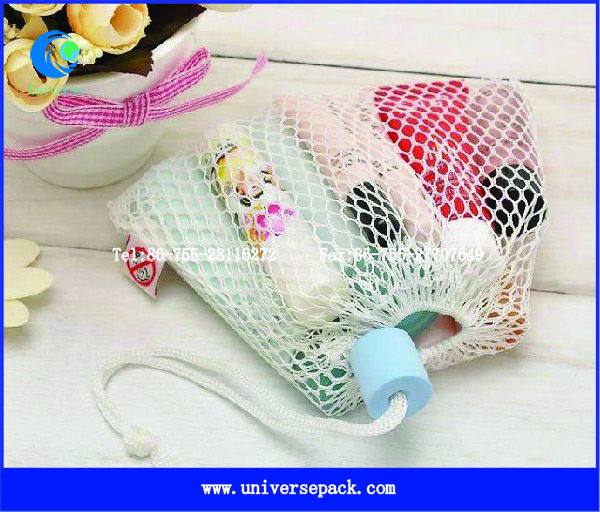 Children's toys mesh bag drawstring