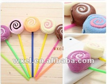 HOT Manufacture sweet Lollipop towel cake