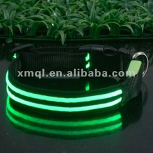 Portable Waterproof Specialized Color LED Dog Collars Wholesale Pet Collars & Leashes