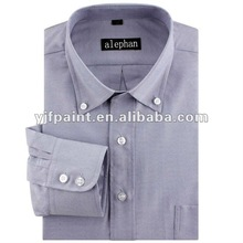 2012 new style Long sleeve oxford textile men's dress shirt formal shirt