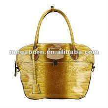 Shine Crocodile Leather Bag 2012 (MBNO021066)