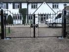 Simple design hot selling sliding driveway gates