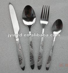 Stainless Steel Tableware With Sand Blast