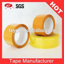 Brown Adhesive Tape printed Company logo BOPP Tape for Carton Packing