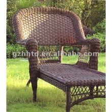 PE rattan outdoors deck chair set