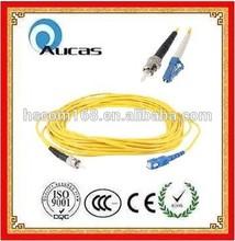 Alta qualidade cabo de fibra óptica jumper SM MM cabo Patch cord fornecedor