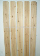 cedar rough dog eared fence boards