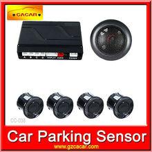 Hot sale 4 auto reverse system auto parking sensor 12v LED Display Indicator Parking Car Reverse Radar Kit ( CC-038 )