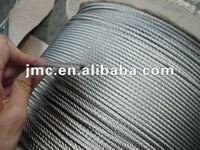 Galvanized Steel Wire Rope Wooden reel packing Various type and sizes